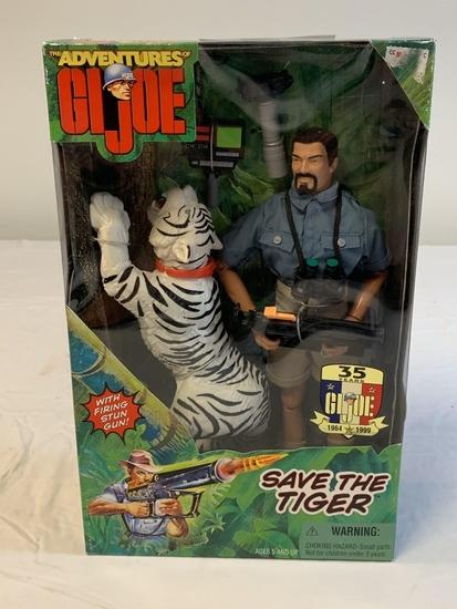 Adventures GI JOE Save The Tiger Action Figure NEW