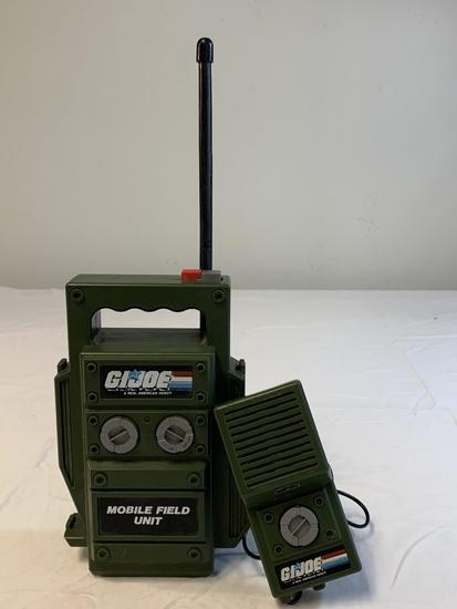 Vintage 1984 GI Joe Mobile Field Walkie Talkie