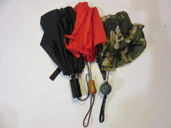 Lot of 3 Umbrellas incl. Hanes HerWay