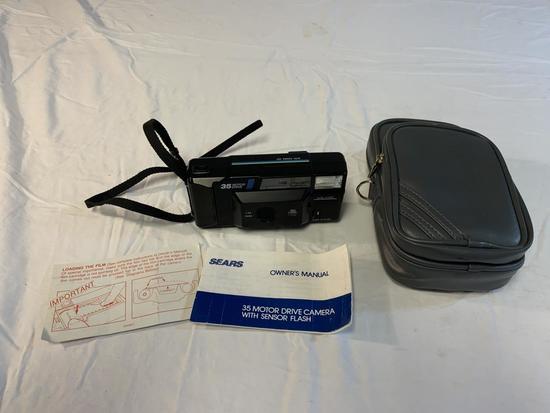 Vintage Sears Ff35 Motor Drive 35mm Film Camera
