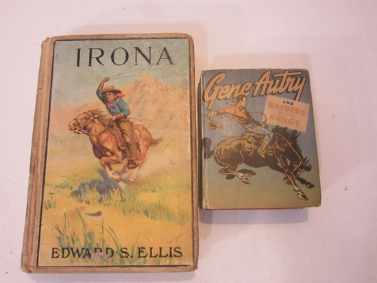 Lot of 2 Vintage Books, Incl. Irona & Gene Autry