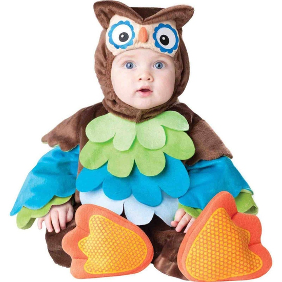 WHAT A HOOT OWL Infant Costume Size 6-12 Months
