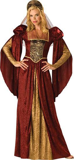 RENAISSANCE MAIDEN Womens Costume NEW Size XL