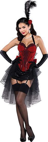 BURLESQUE BOMBSHELL Adult Costume Size XL NEW