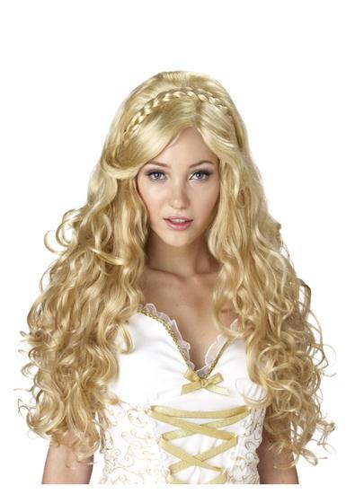 MYTHIC GODDESS Adult Wig Costume NEW