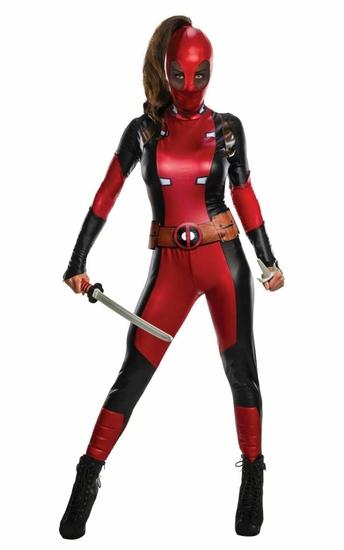 DEADPOOL Marvel Womens Costume Sz Small NEW Rubies
