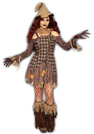 HARVEST SCARECROW Women's Costume Size 14/16 NEW