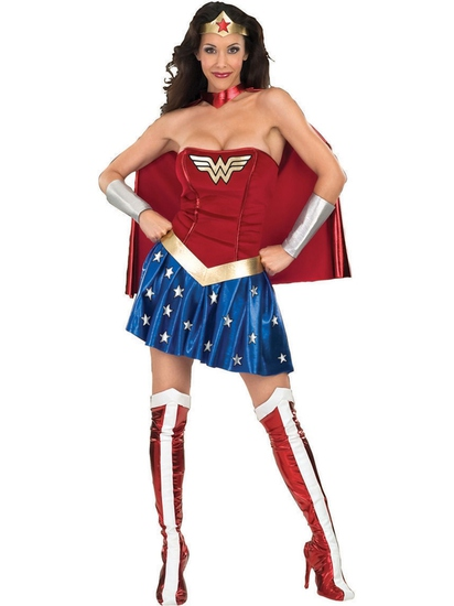 WONDER WOMAN Women's Costume Size XS NEW