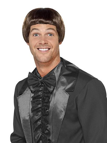 Men's 90'S BOWL CUT WIG Costume NEW by Smiffys
