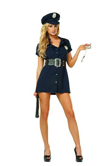 IN THE LINE DUTY Womens Costume Size 20-22 NEW