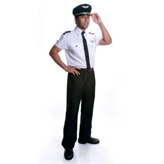 ADULT PILOT Costume Size Large NEW