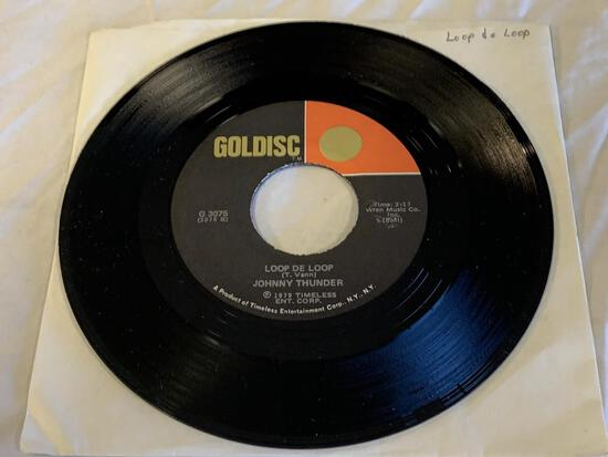 THE HOLLYWOOD ARGYLES Alley Oop 45 RPM Record