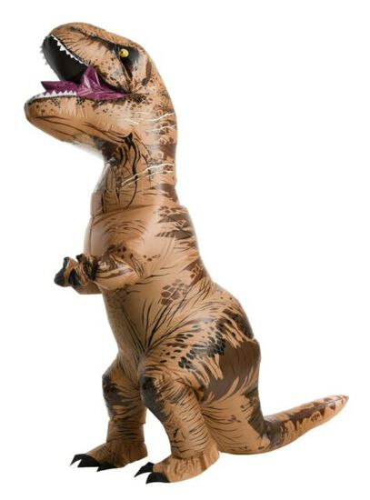 Jurassic World T-REX Inflatable Adult Costume NEW