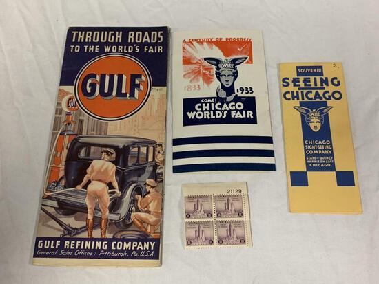 Original 1933 Chicago World's Fair memorabilia