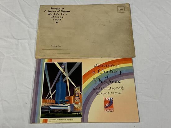 1933 Chicago World's Fair Century of Progress Book