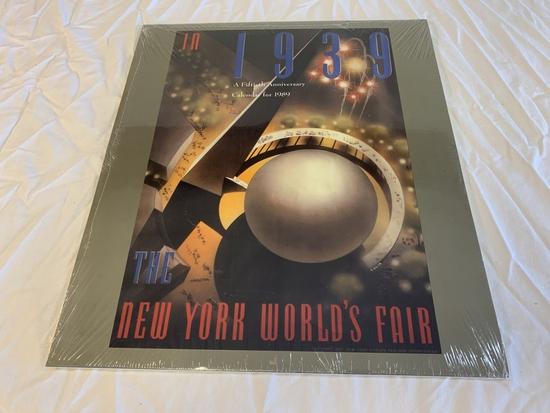 1989 Calendar 1939 World's Fair New York NEW