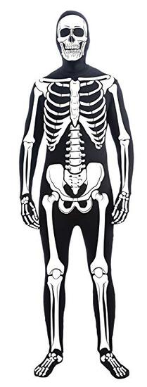 BONE SUIT Adult Costume Size Standard NEW