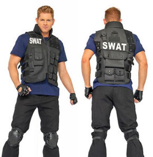 SWAT COMMANDER Adult Costume NEW