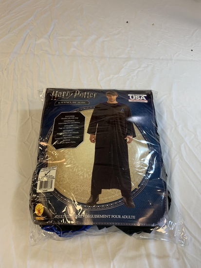 HARRY POTTER Ravenclaw Robe Adult Costume Size XL