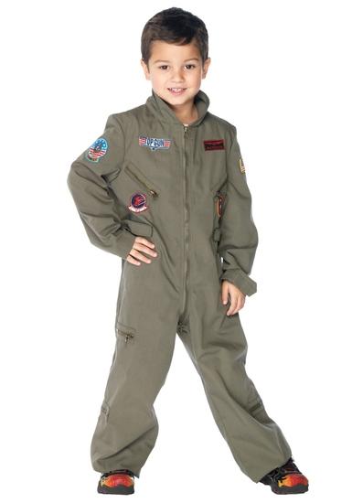TOP GUN Boys Flight Suit Costume Size XS NEW