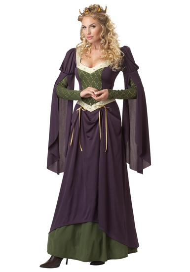 LADY IN WAITING Adult Costume Size Small NEW