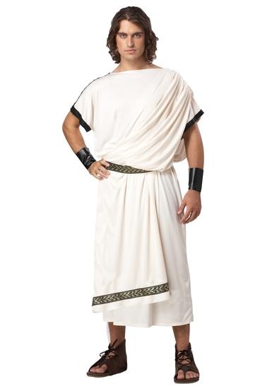 DELUXE CLASSIC TOGA  Adult Men's Costume NEW