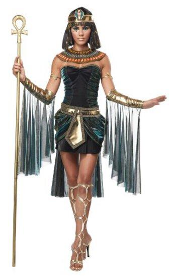 EGYPTAIN GODDESS Women's Costume Size XS NEW