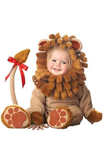 LIL LION Infant Costume Size 6-12 Months NEW