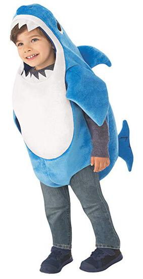 DADDY SHARK Child Costume Size3-4 NEW by Rubie's