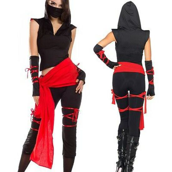 DEADLY NINJA  Women's Adult Costume NEW  Medium