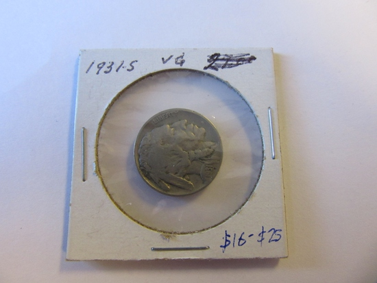 1931-S Buffalo Nickel