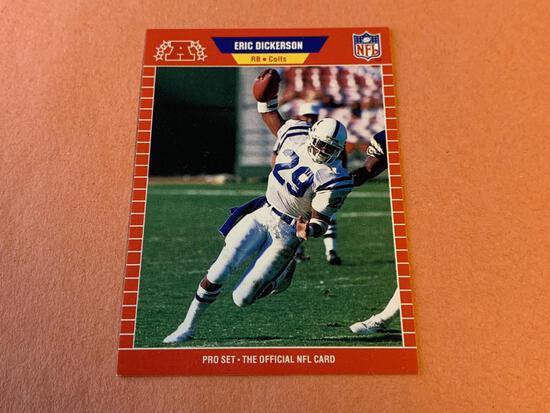 ERIC DICKERSON 1989 Proset Football Card