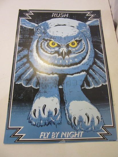 "Rush ""Fly By Night"" Poster"