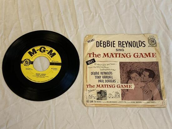 DEBBIE REYNOLDS The Mating Game 45 RPM Record 1959