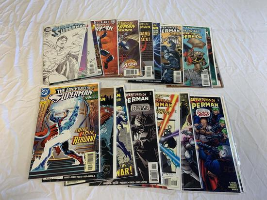 Lot of 18 SUPERMAN The Adventures Of DC Comics