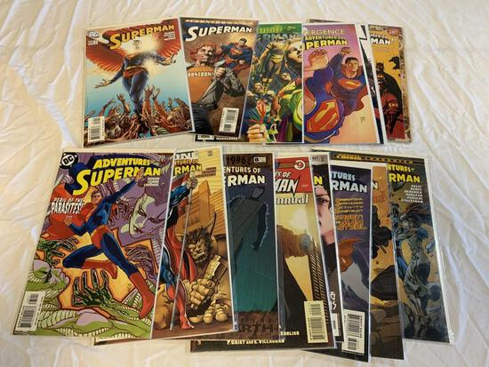 Lot of 16 SUPERMAN The Adventures Of DC Comics