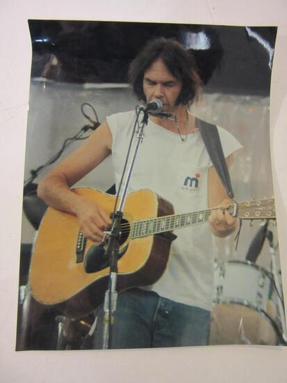 "11"" x 14"" Photo of Neil Young"
