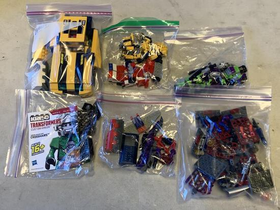 Lot of Transformers Kre-o Building Toys