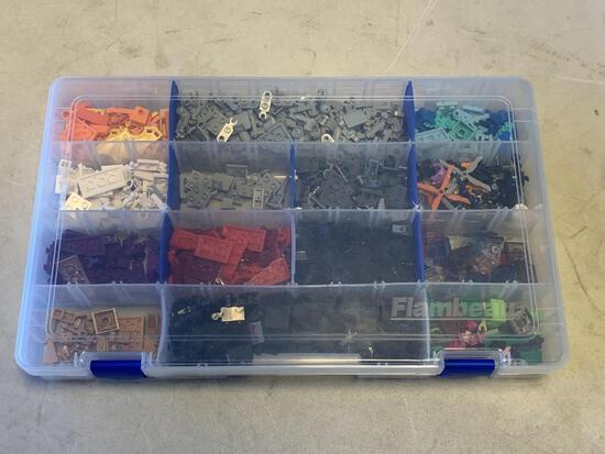 Bin Full of Kre-o Building Pieces and parts