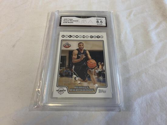 RUSSELL WESTBROOK 2008 Topps ROOKIE Graded 8.5