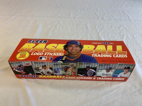 1989 Fleer Baseball Factory Card Set 660 cards