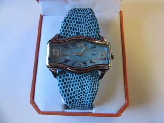 Activa Swiss Blue Watch Swiss Register 495494