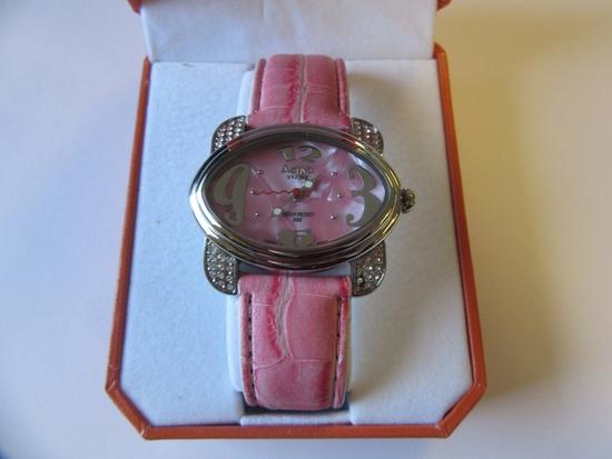 Activa Swiss Pink Watch Swiss Register 495494