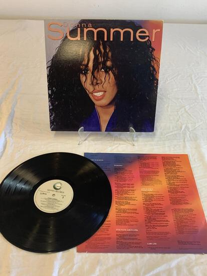 DONNA SUMMER Self Titled LP Album Record 1982