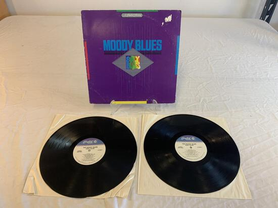 THE MOODY BLUES Early Blues 2x LP Album Record