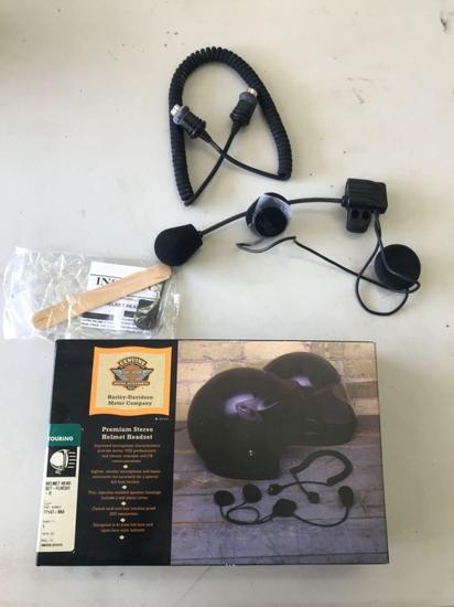 Harley-Davidson Premium Stereo Helmet Headset