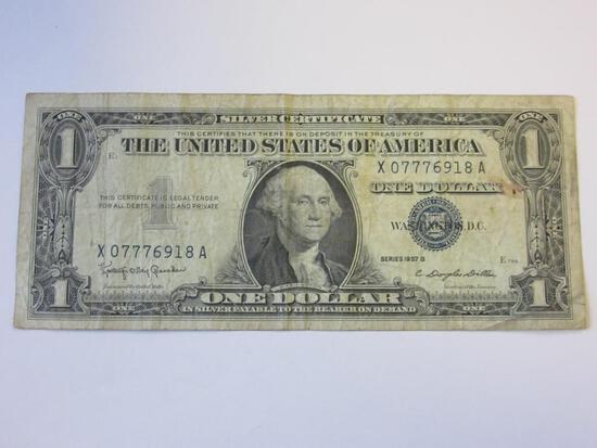 Series 1957B $1 Silver Certificate