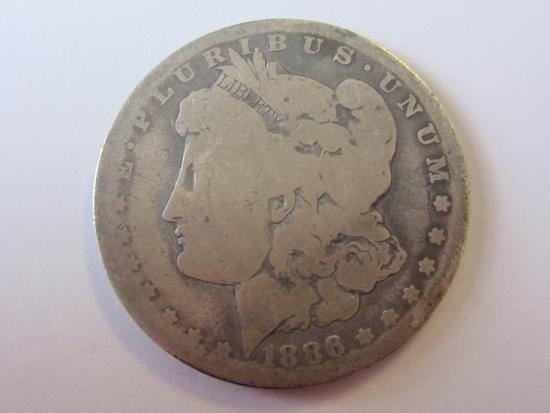 1886-O .90 Silver Morgan Dollar