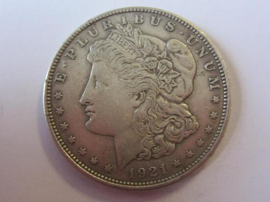 1921 .90 Silver Morgan Dollar