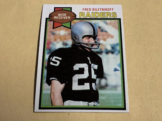 FRED BILETNIKOFF Raiders 1979 Topps Football Card